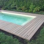 Obklad bazénu, šestajovice