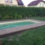 Obklad bazénu