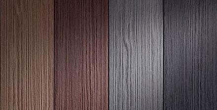 MAX FOREST WPC prkna s šířkou 20 cm a texturou v podobě exotického dřeva. Ve 4 barevných provedeních.